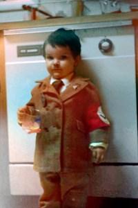 Halloween costume little hitler