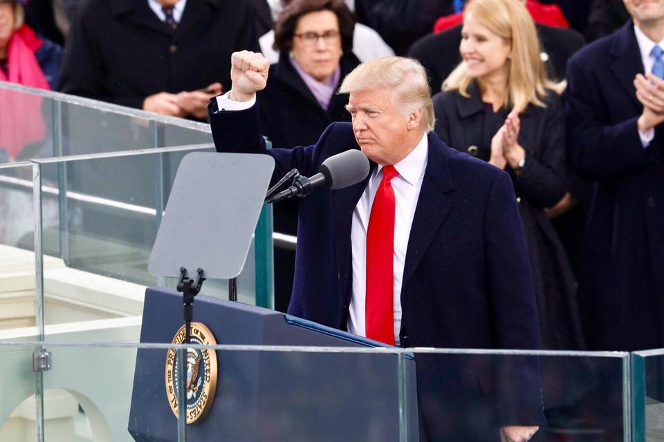 Americans agree with Trump's America First Inaugural Address