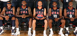 Team USA All Smiles Dominating Olympic Basketball Beijing 2008