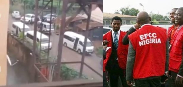 Watch as cultists chased away EFCC operatives during a raid in Imo state ( videos) - Newscastars