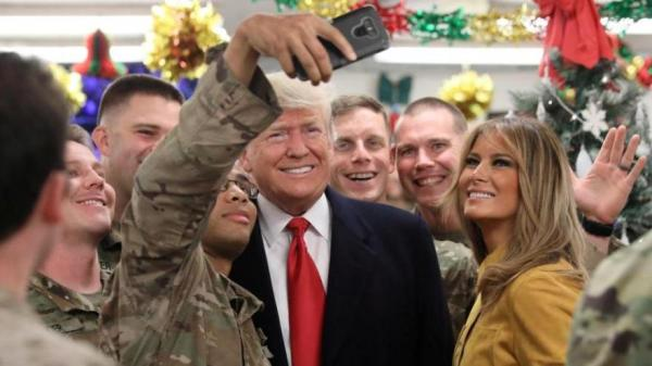 President Trump makes surprise Christmas visit to Iraq to ...