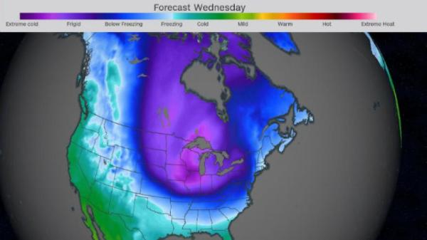 75% of the US population will suffer below-freezing temps ...
