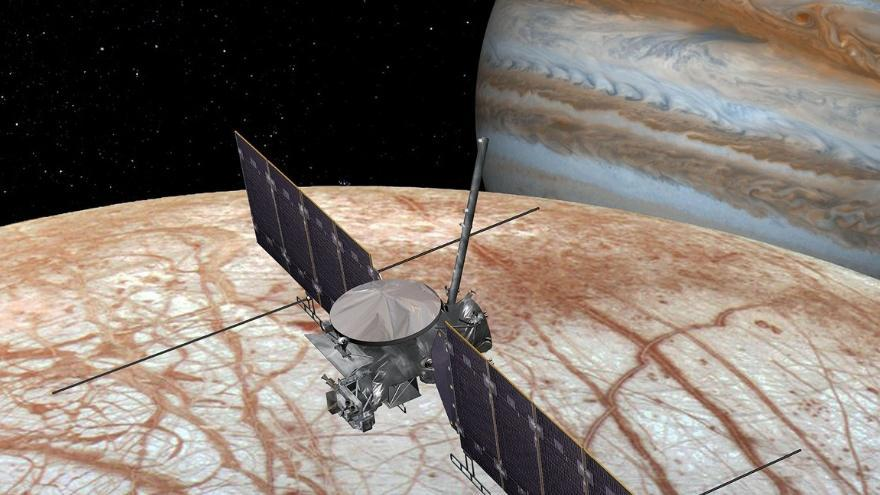 NASA's Europa Clipper spacecraft will investigate Jupiter's moon for signs of life