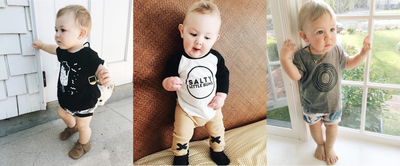 Hipster Kids Clothing: Salty Little Bums