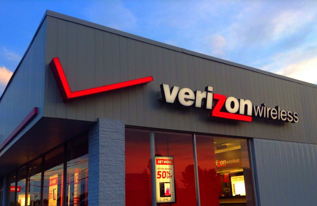 Verizon Wireless retail store