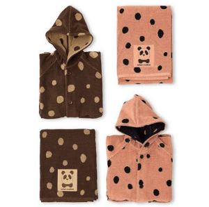 Mini Rodini's organic bathrobes and towels | Credit: minirodini.com