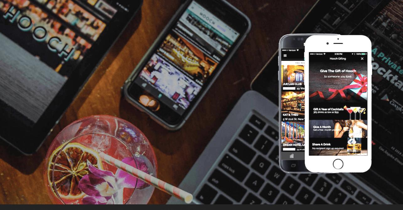 Cocktail membership app Hooch Brings In $4.5 Million