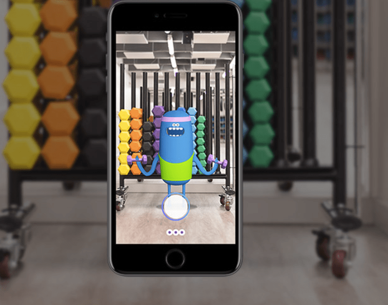 Arooound is an augmented reality product that allows people to create fun content with AR