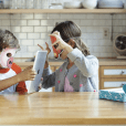 Get Qurious Explorer Box is a set of augmented reality games and activities to introduce technology and educational content to kids ages four to eight.