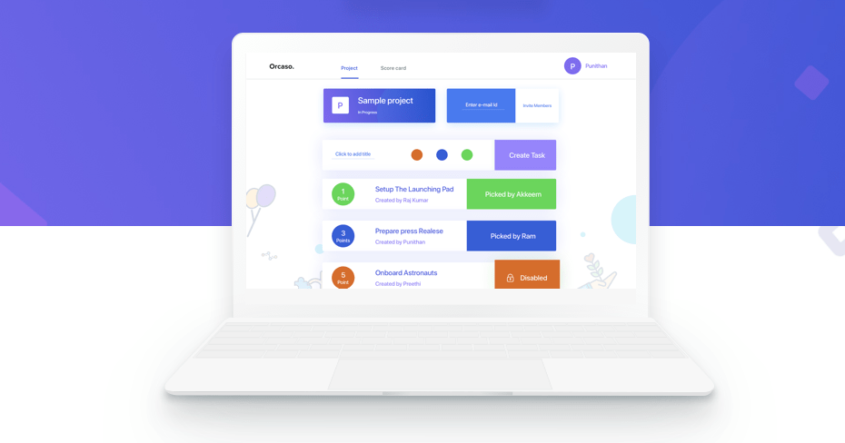 Orcaso gamifies work teams and helps them get work done faster.