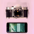 Reflex is a modern update of the manual SLR 35mm film camera.
