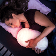 Somnox is a sleep robot designed to improve people's sleep by simulating human breathing