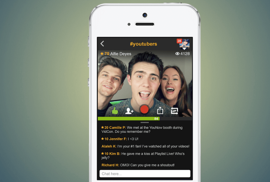 Live Streaming Startup YouNow Closes $6.4 Million