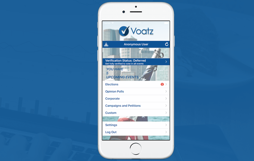 Voatz Raises $2.2 Million Seed Funding