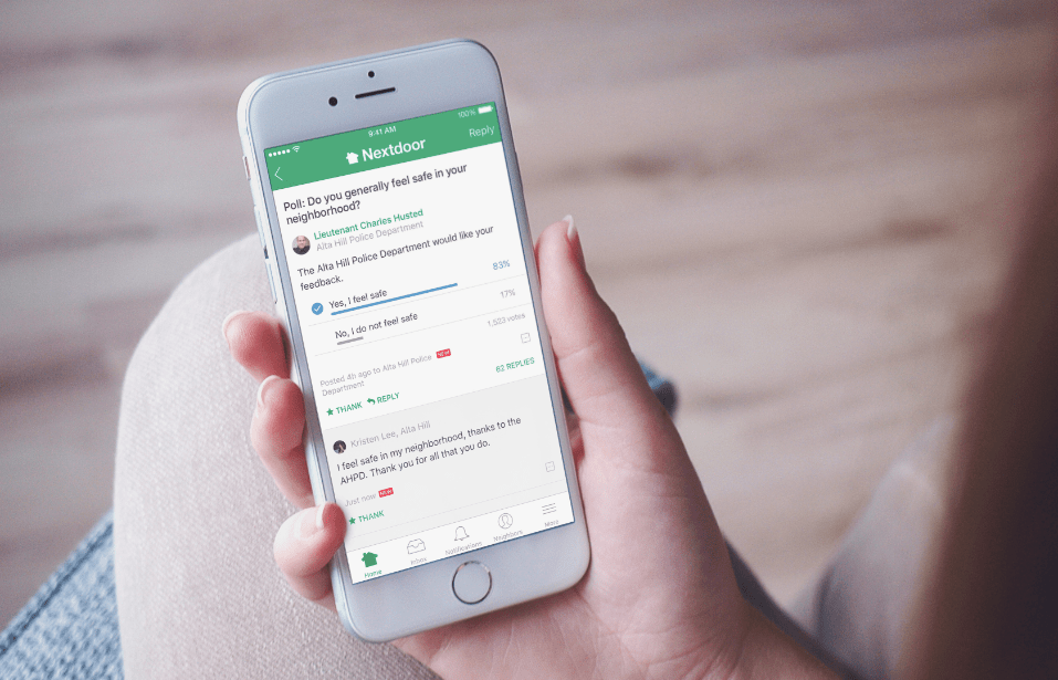 Local Platform Nextdoor Secures $123 Million