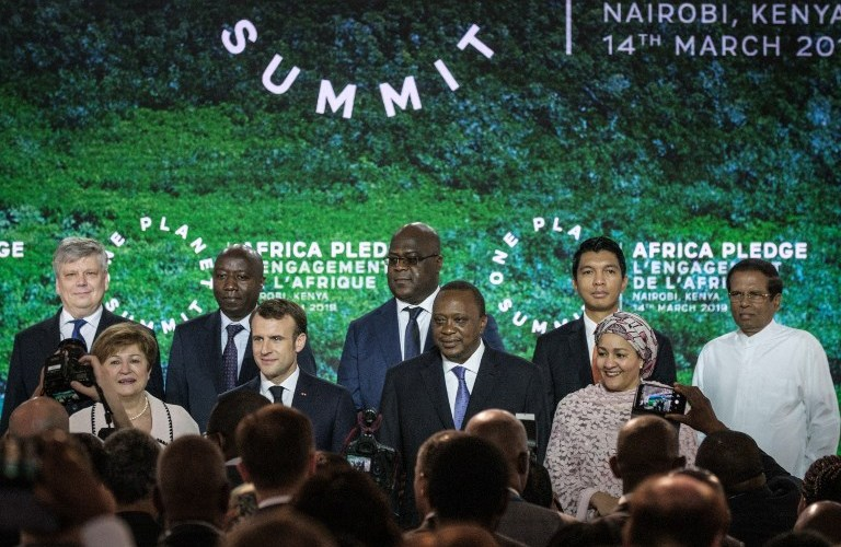 World Leaders pledge for green investment at One Planet Summit in Kenya