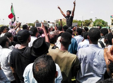Sudanese police tear-gas marchers during rally for 'martyrs'
