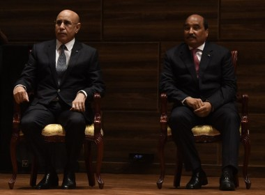 Mauritania holds historic presidential transition between two elected leaders