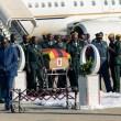 Body of former Zimbabwean President Robert Mugabe arrives Harare