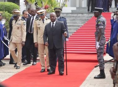 "Gabonese President Ali Bongo vows to ""complete mission"" despite failing health"