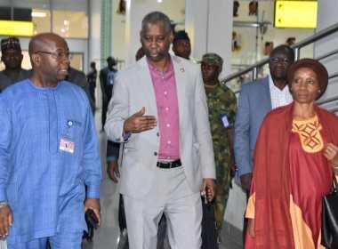 UN General Assembly President, Muhammed-Bande arrives Nigeria