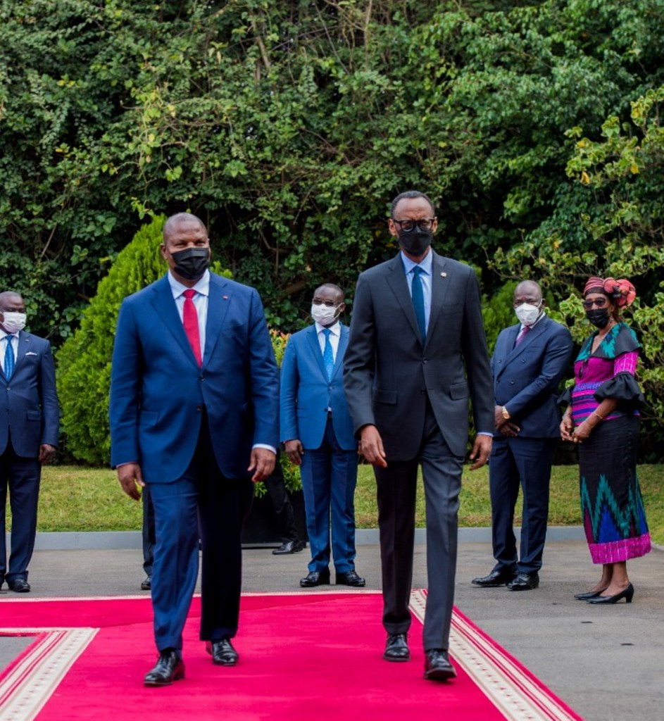 CAR President Touadéra Arrives Kigali for a Four-day State Visit (News Central TV)