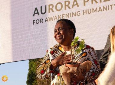 DRC's Julienne Lusenge Wins Aurora Humanitarian Prize (News Central TV)