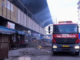 Historic Tanzanian Kariakoo Market Up in Flames (News Central TV)