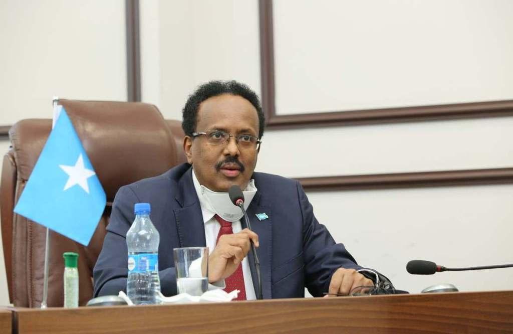 Somalia's President Farmaajo