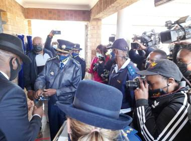 South Africa New Police Station for Daggakraal Residents (News Central TV.)