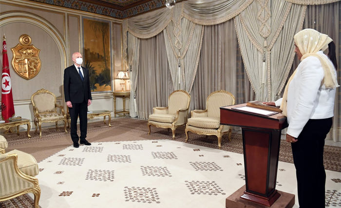 Tunisian-President-Kais-Saied-Meets-Newly-Appointed-Ministers- (News-Central-TV)