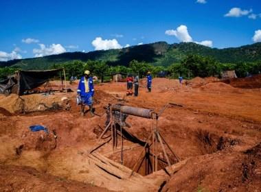 Zim miners at Manzou Farm