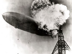Hindenburg Disaster - Public Domain