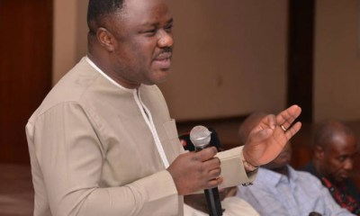 Ayade Writes Buhari Over State of Insecurity in Cross River