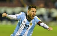 Messi treble lands Argentina in Russia