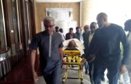 Metuh appears in court on a stretcher
