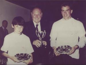 Dan and Ciaran Worlds 1988