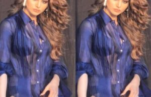 urvashi rautela flaunts her figure in transparent dress