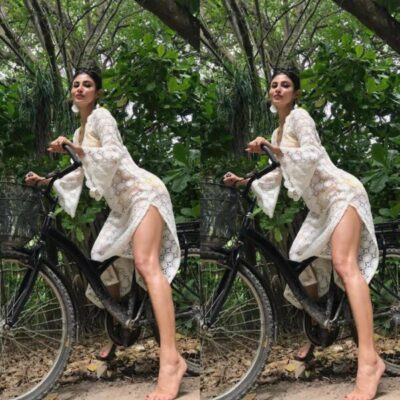 mouni-roy-enjoy-cycling-during-her-vacation