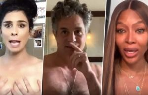 Amy Schumer, Mark Ruffalo and Other Hollywood Stars Go Topless to Explain Naked Ballots
