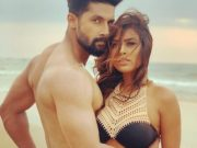 Nia Sharma raises temperature in bikini and poses with shirtless Ravi Dubey