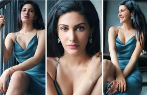 bollywood-actress-amayra-dastur-looks-so-gorgeous-in-blue-dress