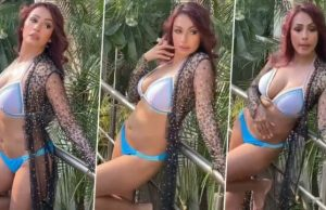 kashmera-shah hot video goes viral on social media