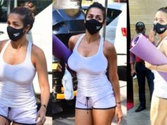 Malaika Arora Flaunts Her Toned Legs In Fashionable Gym Short [SEE]