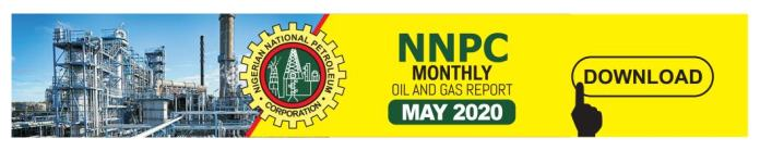 NNPC monthly report May 2020