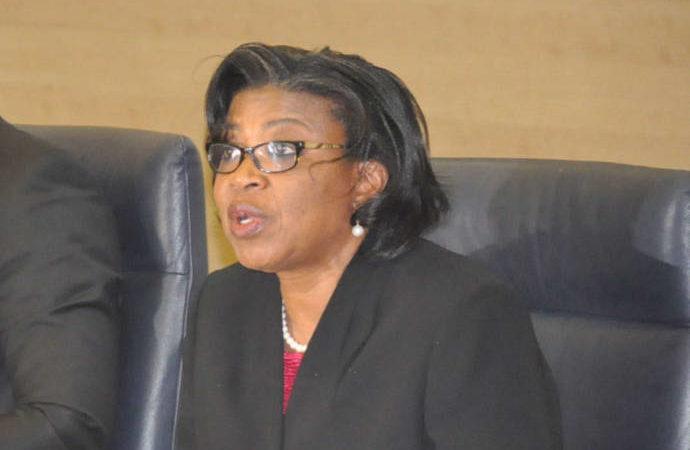 Mrs Patience Oniha, Director-General, Debt Management Office, DMO