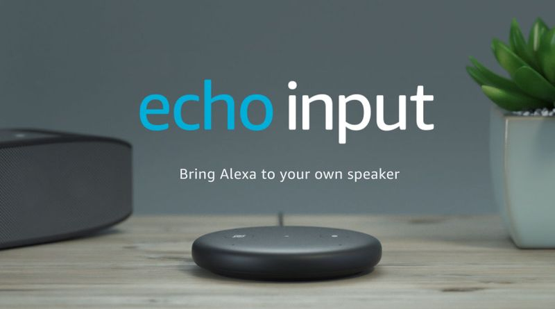 Amazon Echo Input Alexa