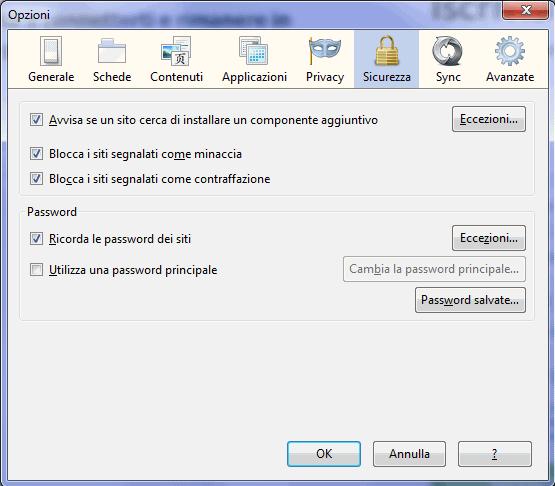 come cancellare le password da Internet Explorer