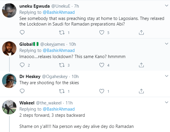 5ea12b8a535bb Nigerians react as Kano state government relaxes lockdown to enable residents shop for Ramadan despite increase in COVID-19 cases