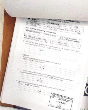 INEC displays particulars of Obaseki, others